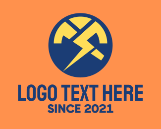 Charge - Tech Power Charge logo design