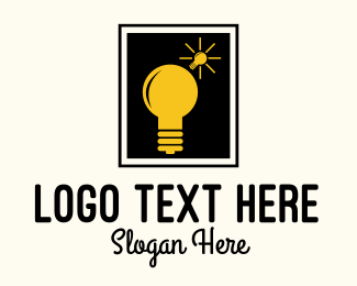 Logic - Bulb Idea logo design