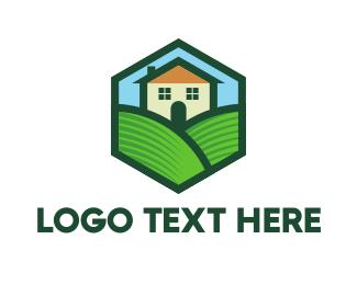Lodge - Home Valley logo design