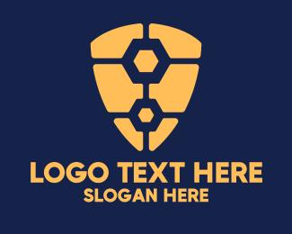 Safety - Work Shield Protection logo design