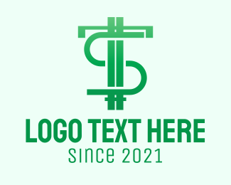 """""""Green Letter TS Currency """" by LogoRU"""