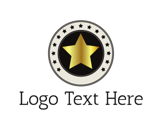 High Quality - Golden Star logo design