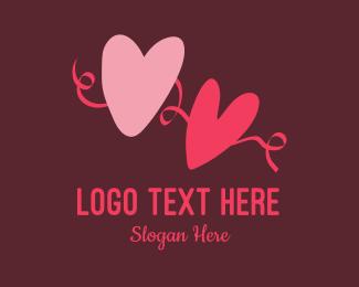 Wedding Coordinator - Heart Engagement  logo design