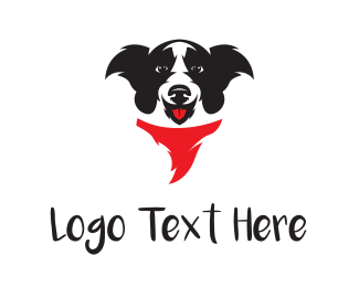 Doggy - Happy Dog logo design