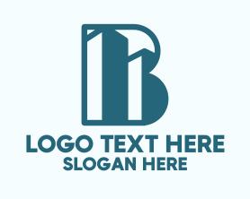 Buildings - Buildings Letter B logo design