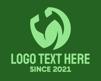Strong - Strong Leaf logo design