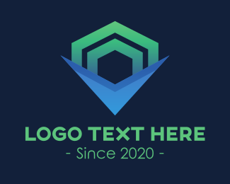 Business Solutions - Commercial Business Shape logo design