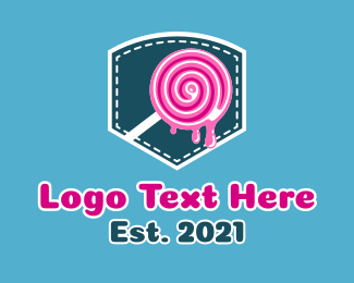 Melting - Pocket Lollipop logo design