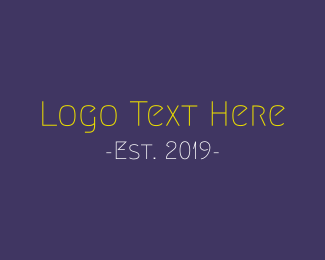 Funny - Funny & Thin logo design