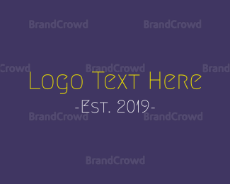 """""""Funny & Thin"""" by BrandCrowd"""