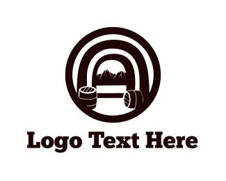 Wine - Wine Cellar logo design