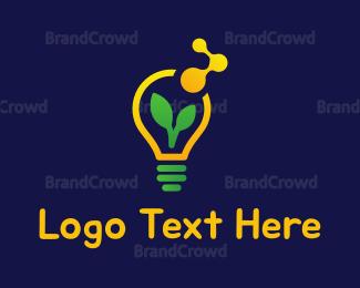 Renewable - Eco Lignt  logo design