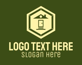 Stair - Hexagonal Home Realty logo design