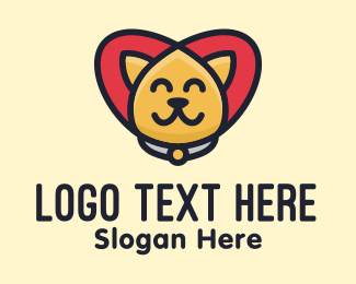 Pet Grooming - Pet Cat Care logo design