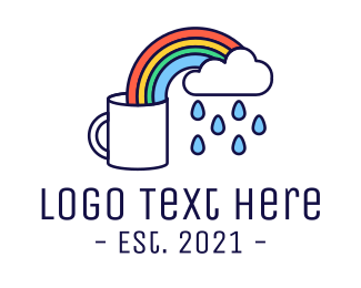 Mug - Rainbow Coffee Mug logo design