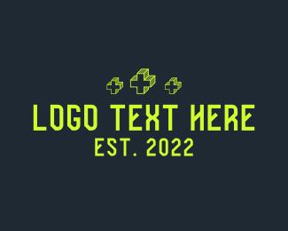 Information Technology - Antivirus Protection Wordmark logo design