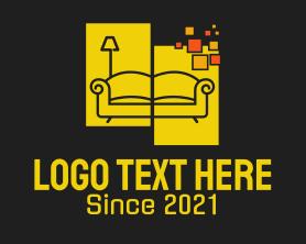 App - Pixel Home Furnishing logo design