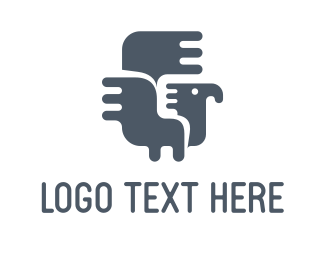 Turkey - Mayan Bird logo design
