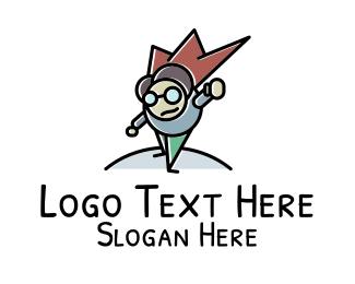Web Developer - Geek Hero logo design