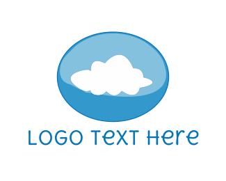 Stream - Cloud Bubble logo design