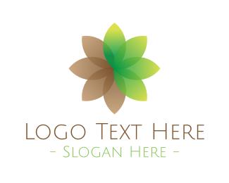 May - Lotus Flower logo design