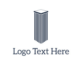 Attorney - Blue Pillar logo design