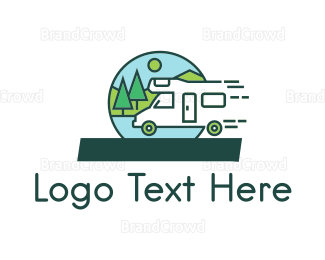 Outdoor - Fast Camper logo design