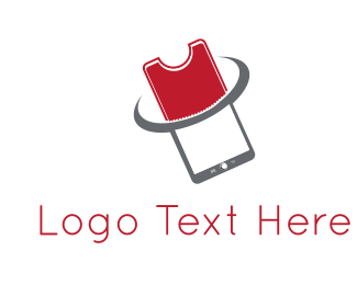 Cellphone - Ticket & Phone logo design