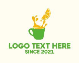 Restaurant - Orange Juice Stall logo design