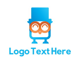 Flash Drive - Owl Flash Drive logo design