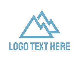 Hiking - Blue Mountains logo design