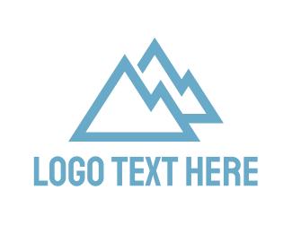 Mountain - Blue Mountains logo design