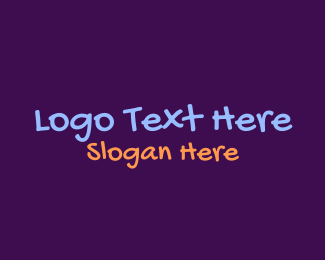 School - Teen Writing logo design