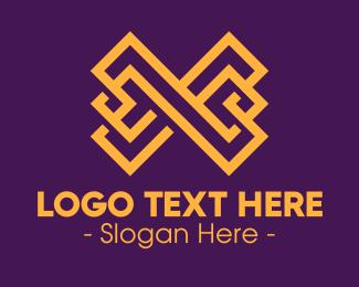 Finance - Luxury Letter X logo design