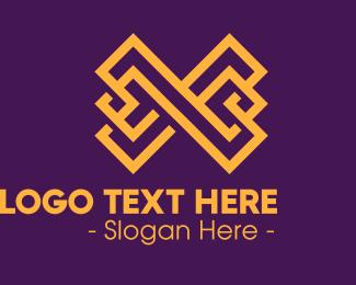 Letter X - Luxury Letter X logo design