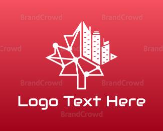 Canadian - Modern Canadian City logo design