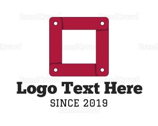 Flooring - Link Cube logo design