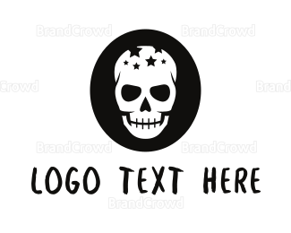 Rock Band - Star Skull logo design