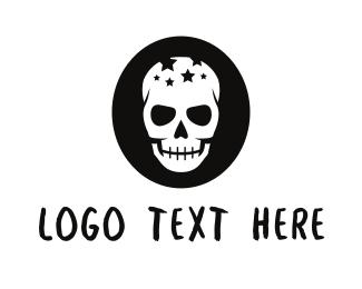 Tattoo - Star Skull logo design
