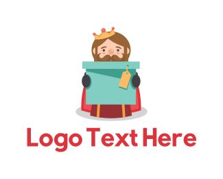 Box - King Box logo design