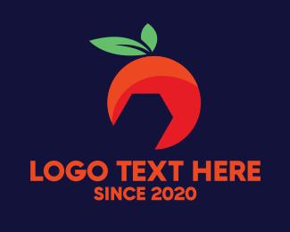 Wrench - Orange Wrench logo design