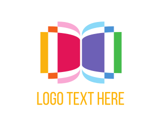Notebook - Colorful Pages logo design