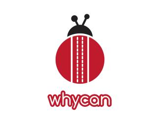 Bug Striped Bug logo design