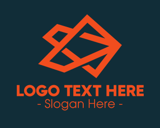 Company - Orange Abstract Company logo design