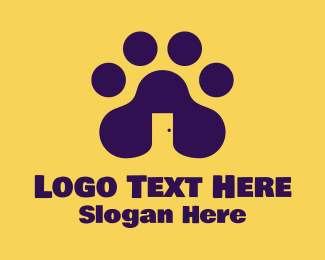 Paw - House & Paw logo design