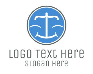 Law - Happy Law logo design
