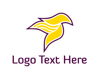 Canary - Yellow Bird logo design
