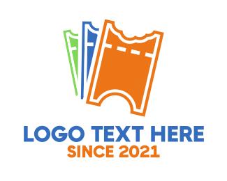 Ticket - Ticket Bites logo design