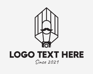 Photograph - Photographer Hipster Photography logo design