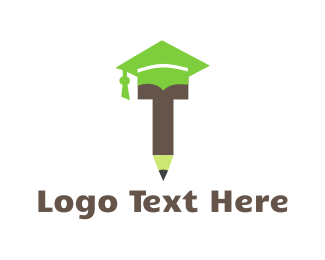 Graduate - Graduation Pencil logo design